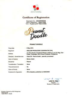 #4-Peanut Doodle Brand registration