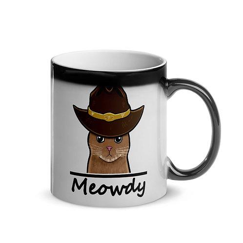 Cowboy Cat Coffee Cup