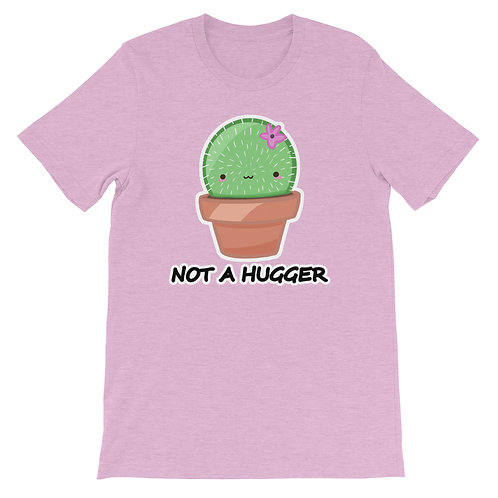 Funny Cactus T-Shirt, Not a Hugger