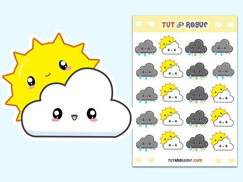 Cloud Sticker Sheet