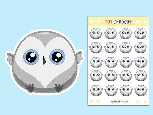 Owl Sticker Sheet