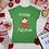 Thumbnail: Christmas Cat T-shirt, Merry Cat-Mas Shirt, Short-Sleeve Unisex T-Shirt