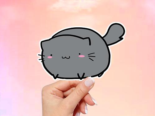 Anime Cat Vinyl Sticker