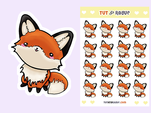 Fox Sticker Sheet