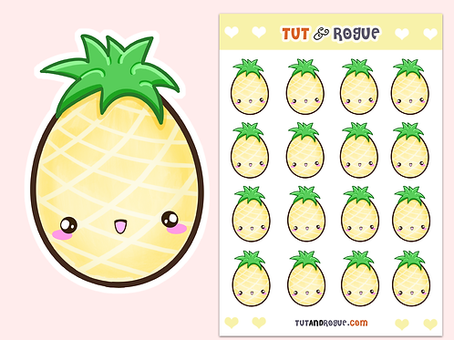 Pineapple Sticker Sheet