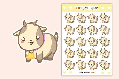 Goat Sticker Sheet