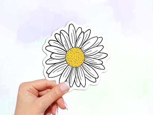 Daisy Vinyl Sticker
