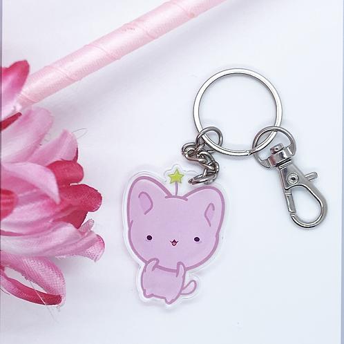 Kawaii Cat Keychain, Kawaii Keychain, Bitty Neko