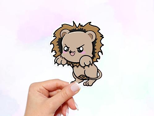 Lion Vinyl Sticker, Animal stickers