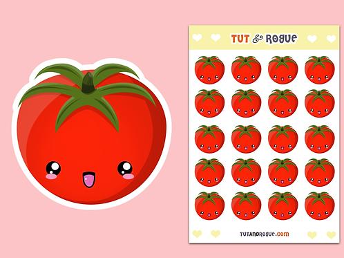 Tomato Sticker Sheet