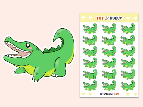 Alligator Sticker Sheet