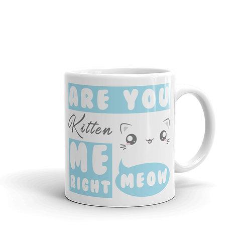 Anime Cat Coffee Mug