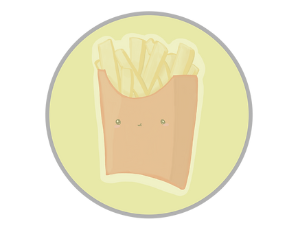Buy Kawaii Food Stickers Online