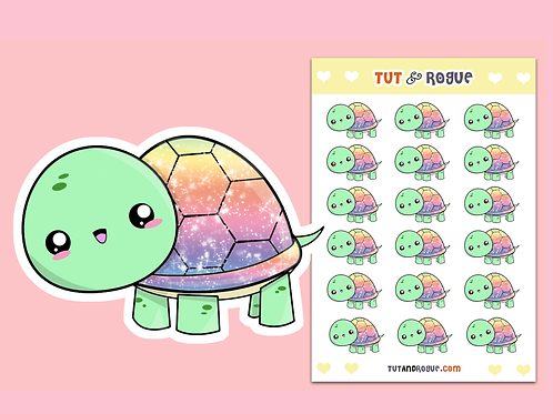 Turtle Sticker Sheet