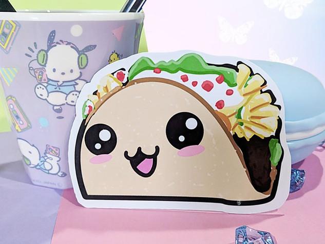 Taco Magnet, Vegetable Magnet