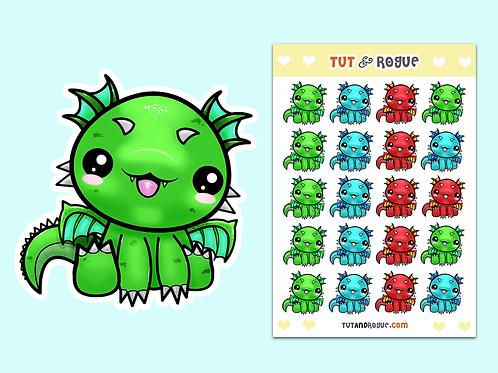 Dragon Sticker Sheet