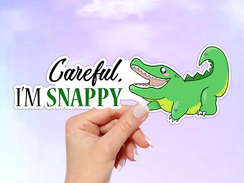 Alligator Vinyl Sticker