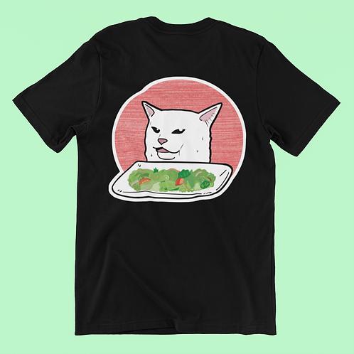 Women Vs Cat Meme T-Shirt, Smudge the Cat Meme Shirt