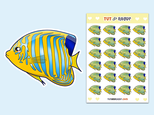Angel Fish Sticker Sheet