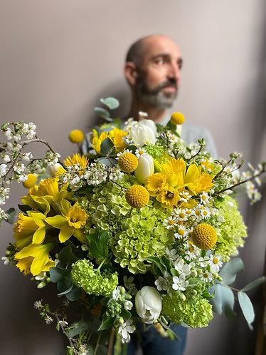 Bouquet pour un printemps ensoleillé