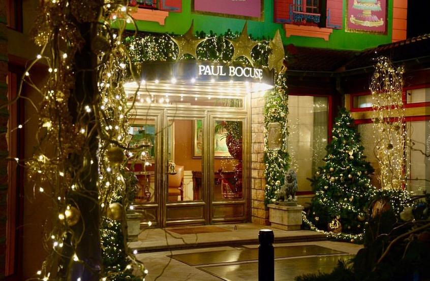 Décor de Noel Restaurant Lyon