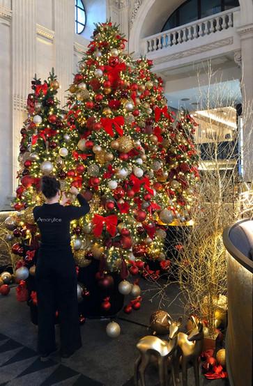 Décoration de Noel lyon - Décor de Noel hotel Lyon