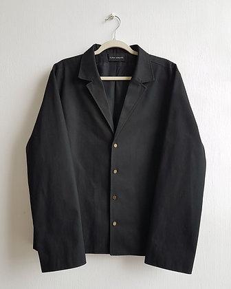 Mens Black jeans shirt_SAMPLE