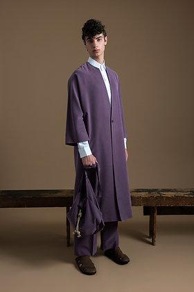 Purple kimono Coat
