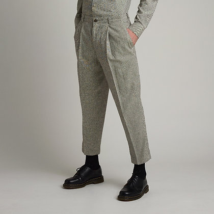 Gray Tailored Pants