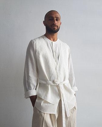 White Vest Shirt