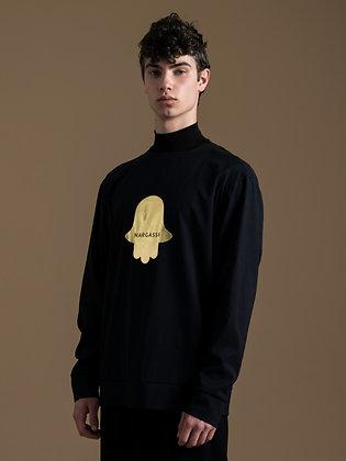 HAMSA Printed Sweater