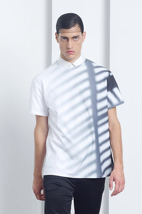 Shadow Print T Shirt