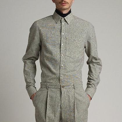Mens Gray long sleeve shirts
