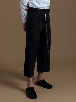 Black Wrapping Pants