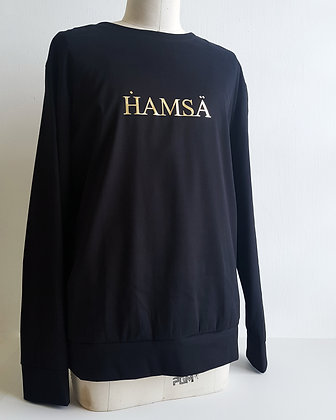 HAMSA black sweater