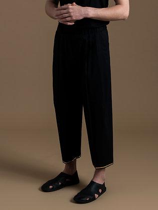 Black Tailored Harem Pants