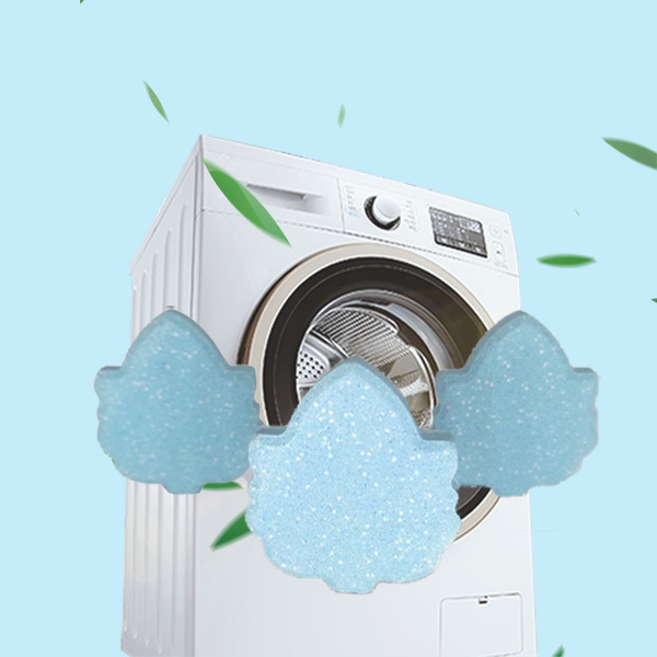 Effervescent tablet (washing machine cleaning)
