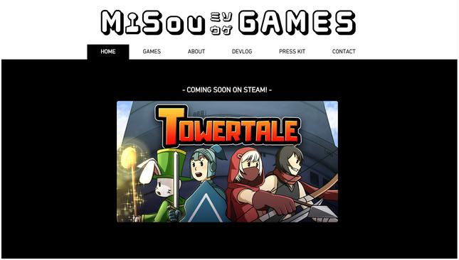 MiSou Games Website is now Live!