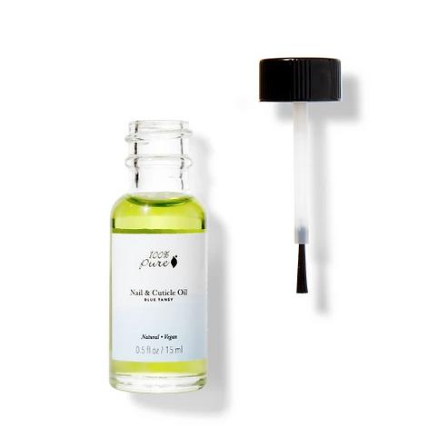 organic nail and cuticle oil, creme, treatment, 100% pure