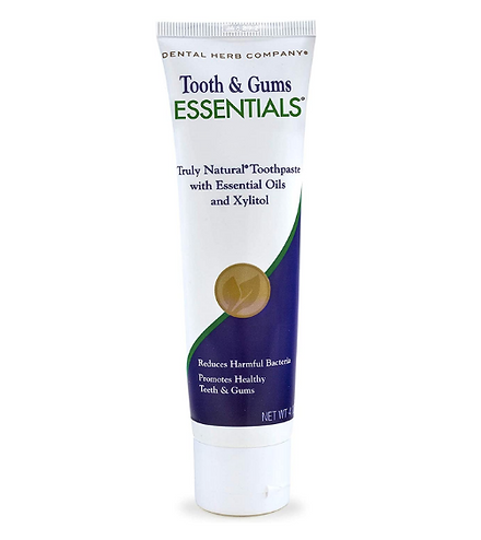 organic toothpaste tooth & gums essentials toothpaste dental herbs company