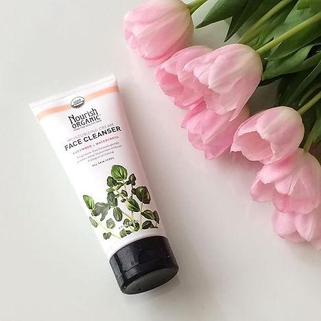 USDA Certified organic facial cleanser, safe, non-toxic, nourish organic, dry skin, oily skin