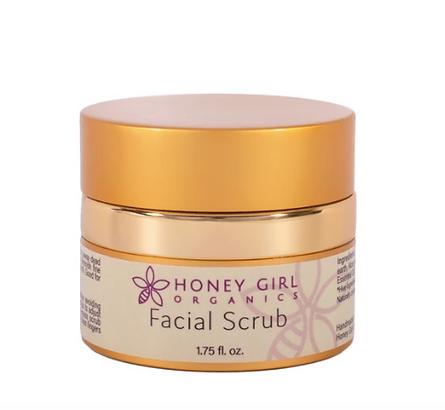 Organic face scrub, body scrub, Honey Girls Organics
