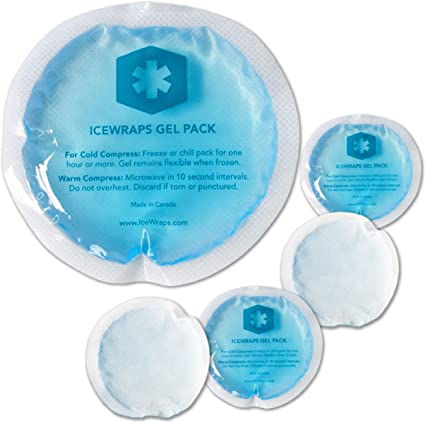 organic ice pack, non toxic ice cold or hot pack