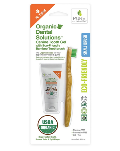 certified organic dogs toothpaste, tooth gel for dogs, pets, no xylitol