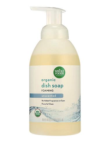 usda certified organic dish soap