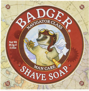 Badger shave soap organic for men
