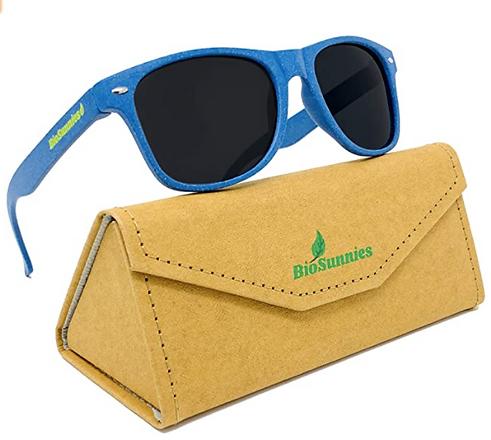 Organic, non-toxic sunsglasses, no California proposition 65 warning glasses