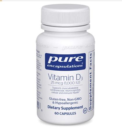 Pure encapsulations, hair loss, hair supplements, supplements for hair, hair growth, hair loss vitamin d
