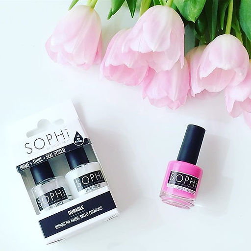 non-toxic nail polish, safe nail polich, organic nail polish, organic spa, Sophi nail polish