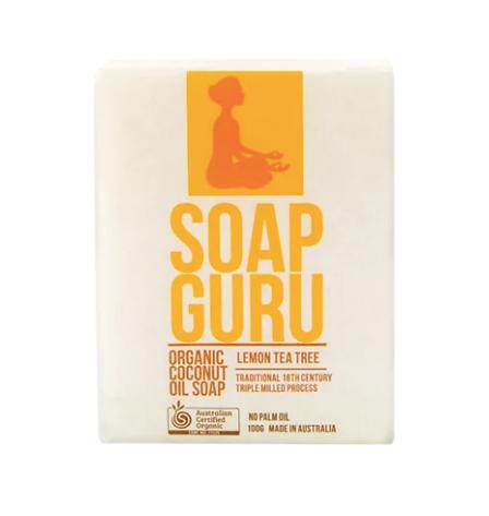 Certified organic bas soap